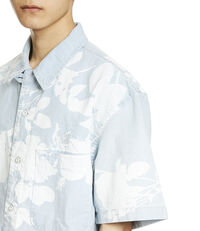 Bowling Shirt Absence Of Rose Print
