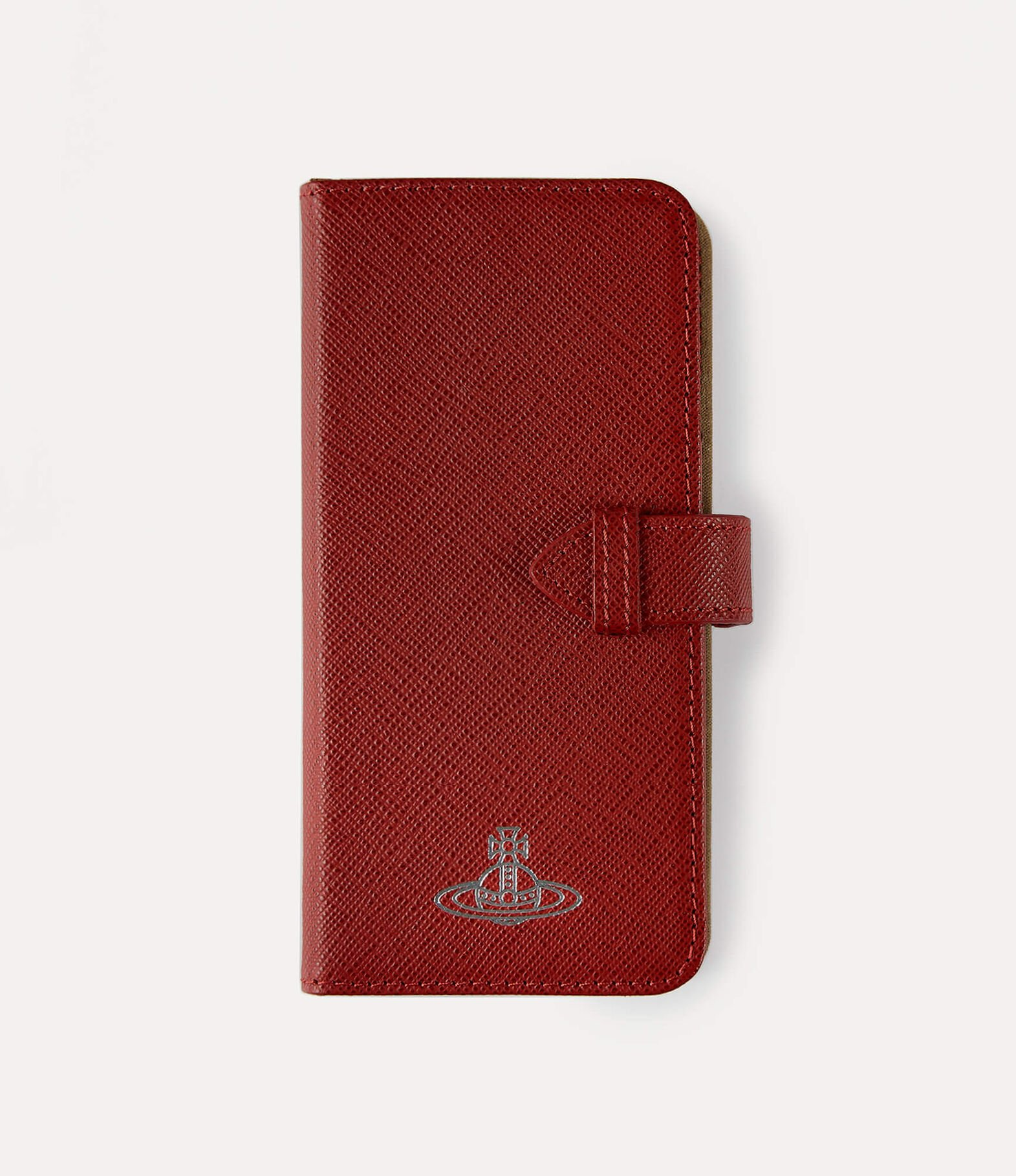 Iphone Xs Max Flap Case Red