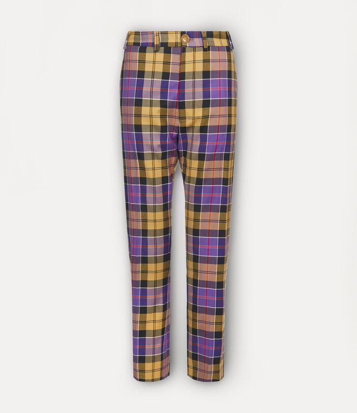 George Trousers Tartan 1