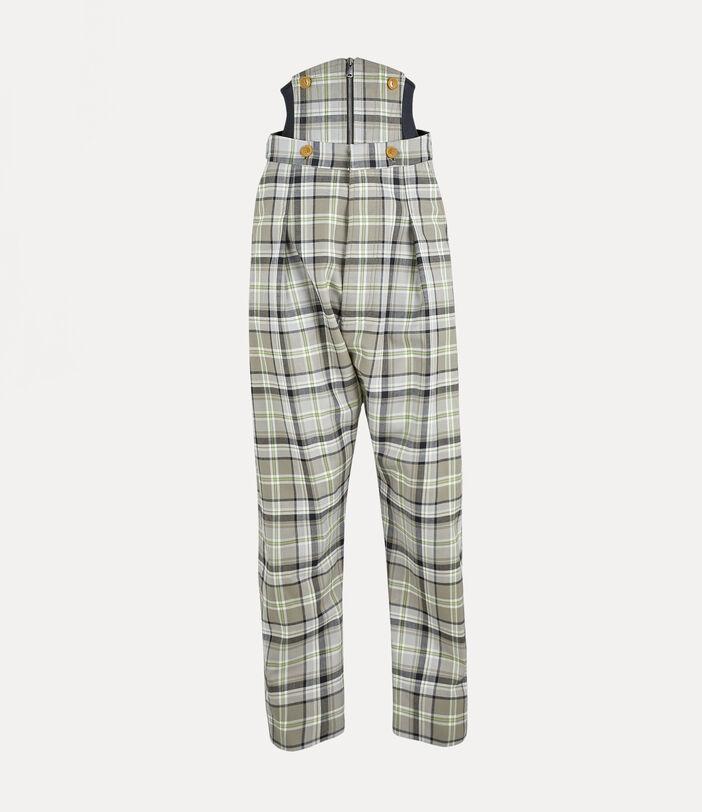 Corset Trousers Tartan 1