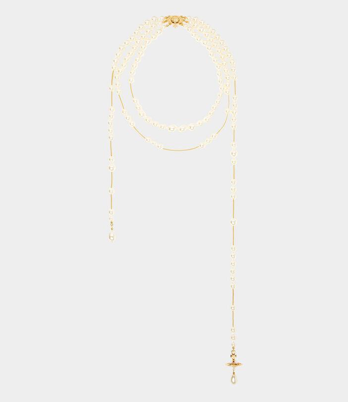 Broken Pearl Necklace 1