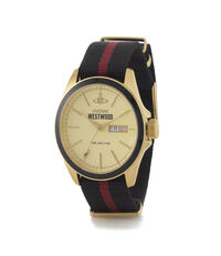 Gold/Black Camden Lock II Watch