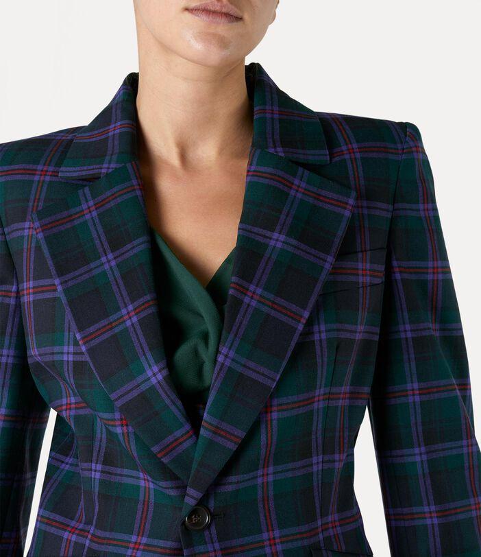 Lou Lou Jacket Purple/Green 4