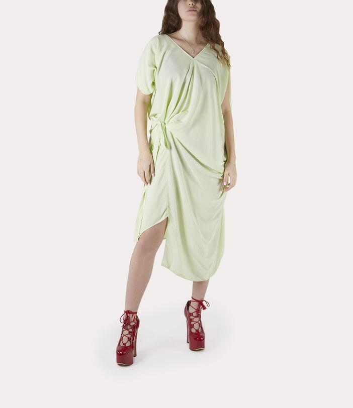 Johanna Dress Lime Cream 2