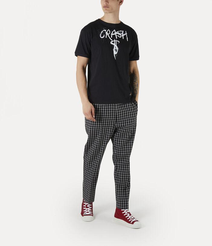 Man Crash T-Shirt Black 2