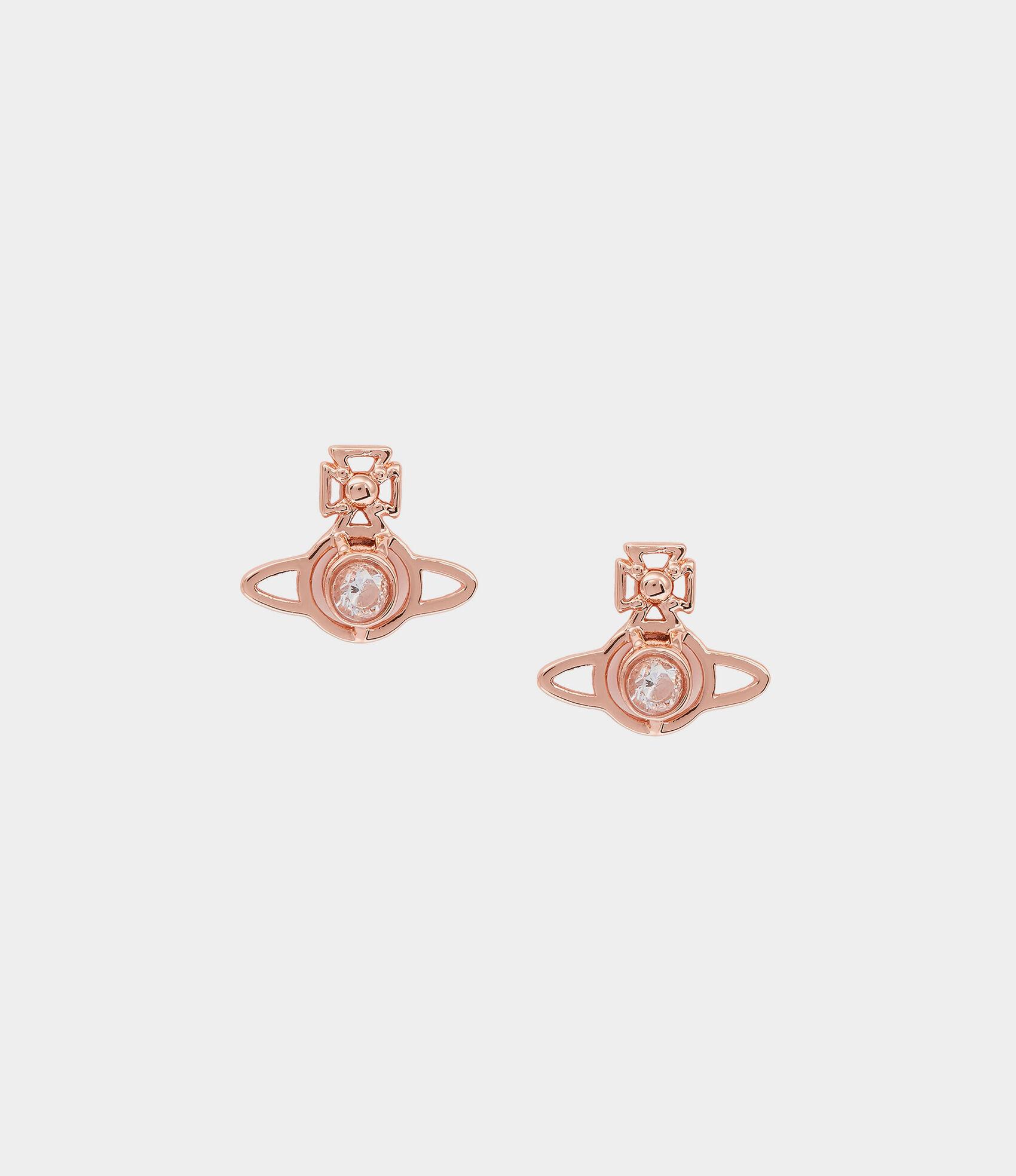 69d07fa5b Nora Earrings Pink Gold   Women's Earrings   Vivienne Westwood