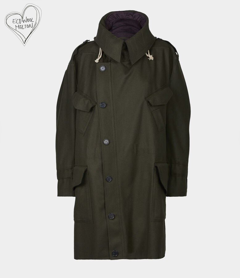 Military Parka Invisible Green from Vivienne Westwood