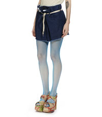 Alien Skirt Blue Denim