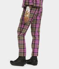 Boy Trousers Pink Tartan
