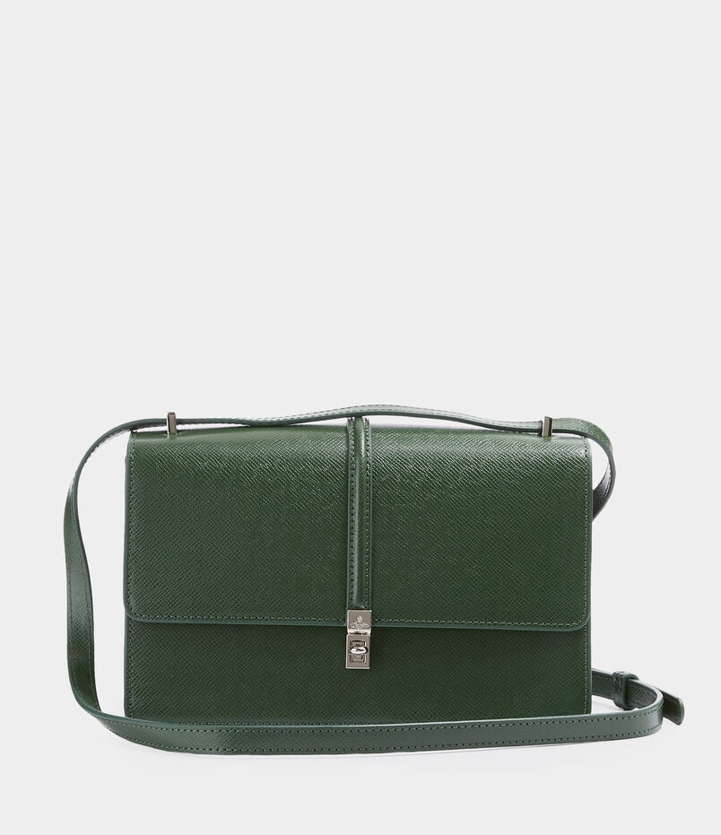 Sofia Small Crossbody With Flap Green