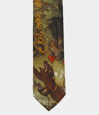 100 Million Foulard Tie Green