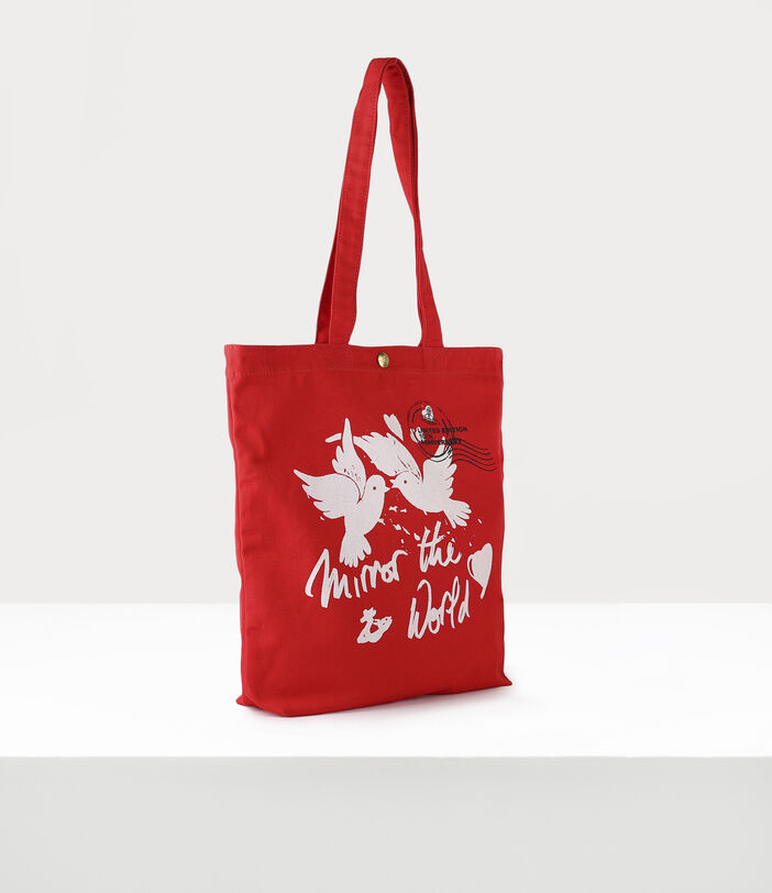 10Th Anniversary Tote Bag Red 2