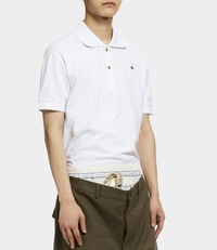 New Polo Short Sleeved Shirt White