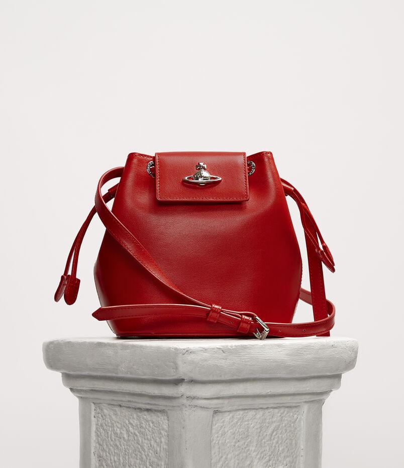 Matilda Bucket Bag Red