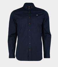 Two Button Krall Shirt Navy