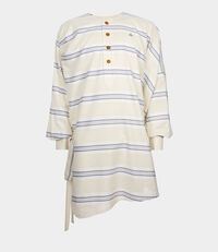 Oya Tunic Blue Stripes