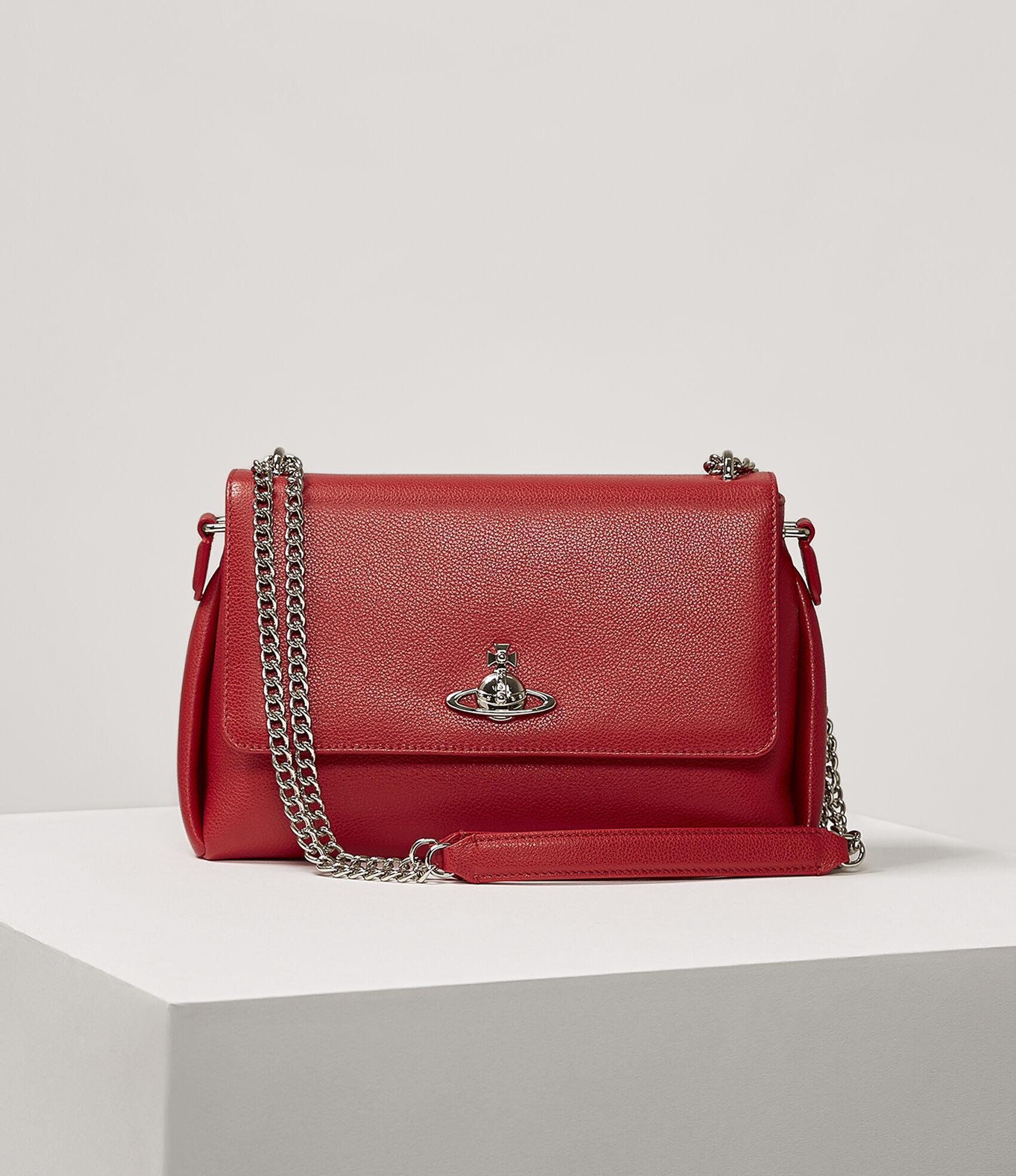 Vivienne Westwood Women S Designer Crossbody Bags Windsor Bag Red