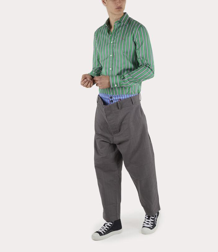 Alien Trousers Grey Check Herringbone 2