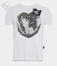 Classic T-Shirt Heart World T-Shirt White