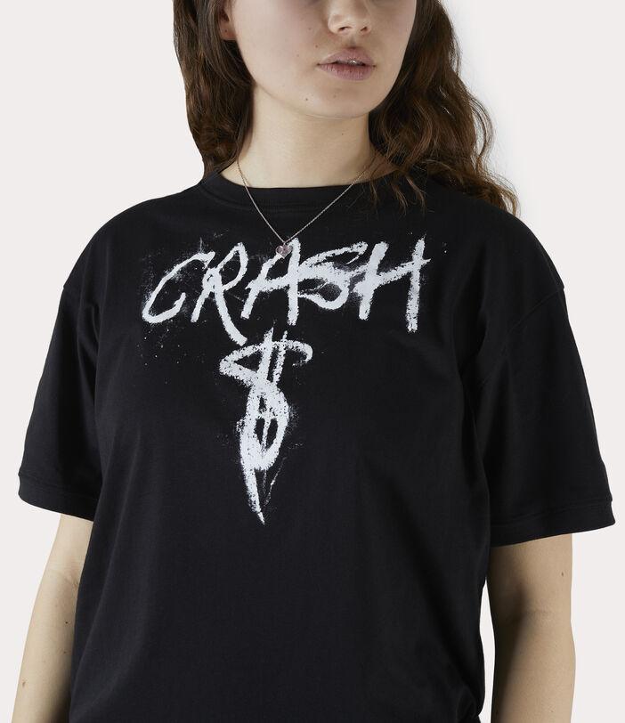 Man Crash T-Shirt Black 5