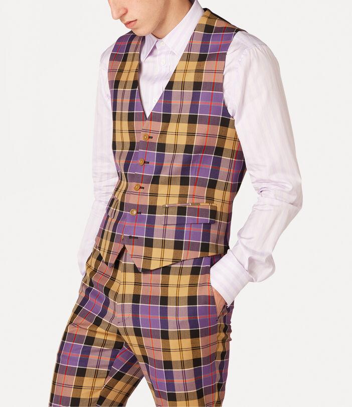 New Classic Waistcoat Tartan 3