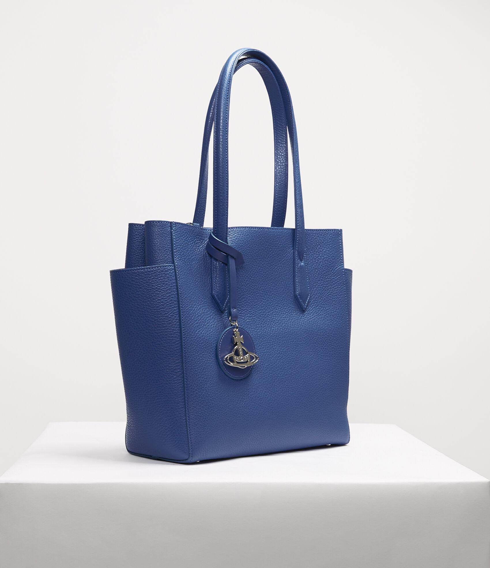 127986f53bc Rachel Small Shopper Bag Blue | Women's Handbags | Vivienne Westwood