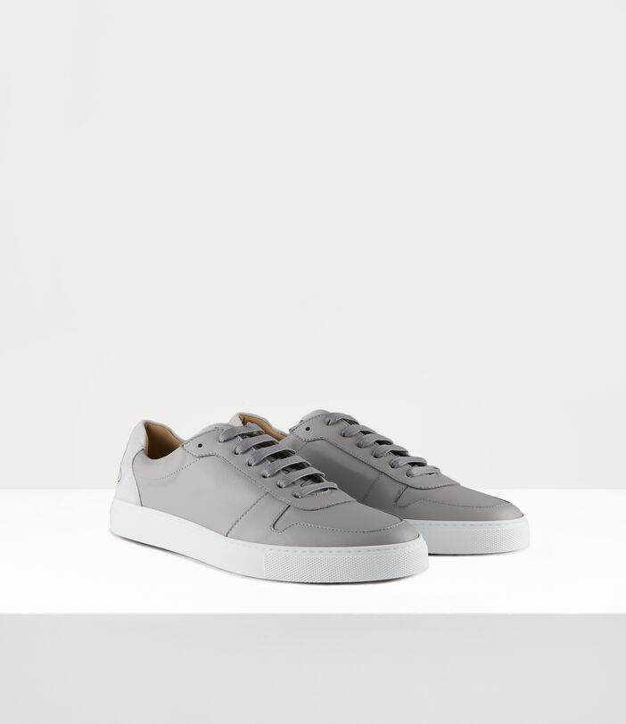 Men'S Low Top Apollo Trainers Grey 2