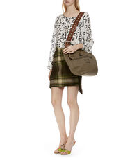 Charlotte Canvas Shopper 42060002 Khaki/Black