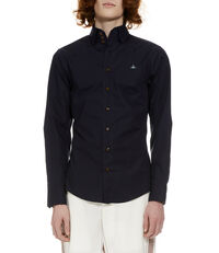 Krall Stretch Shirt Blue/Navy