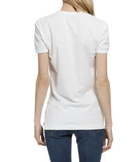 Classic Organic Heart World T-Shirt White
