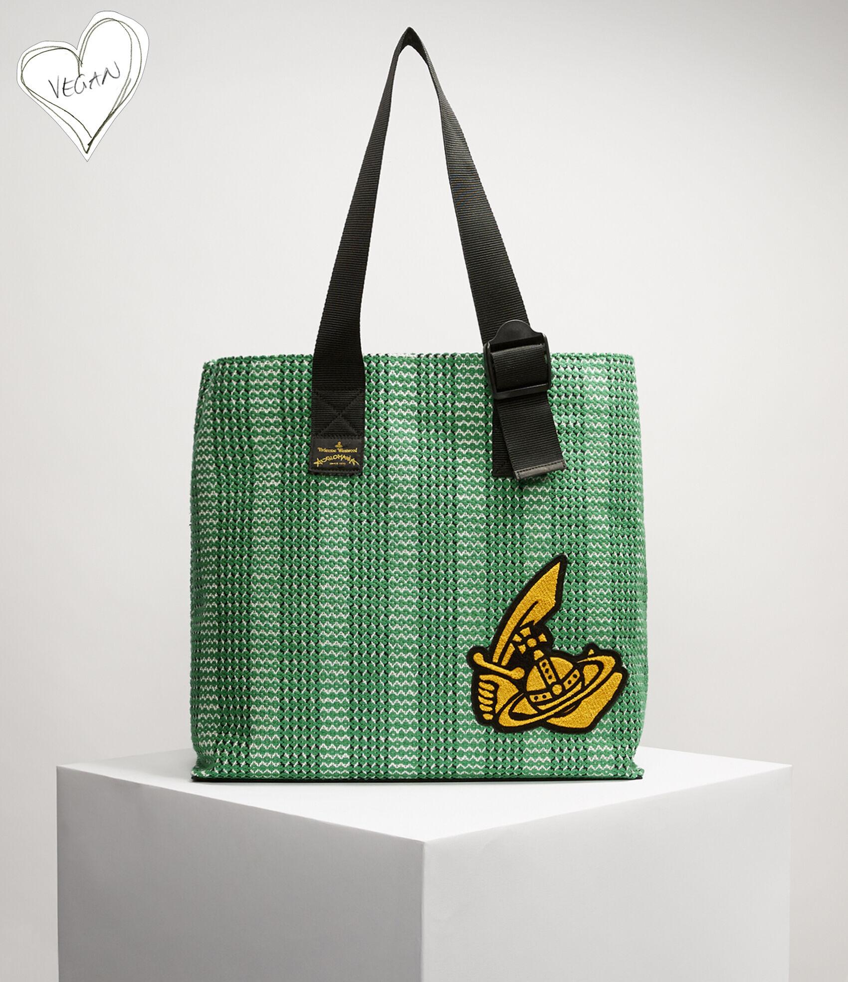 11e83ffe48 Alice Shopper Bag Green | Women's Handbags | Vivienne Westwood