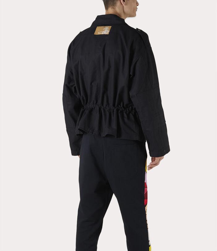 Ben Overshirt Black Check Herringbone 8