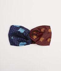Tie Head band Red/Blue
