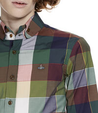 Two Button Krall Shirt Gingham Multi