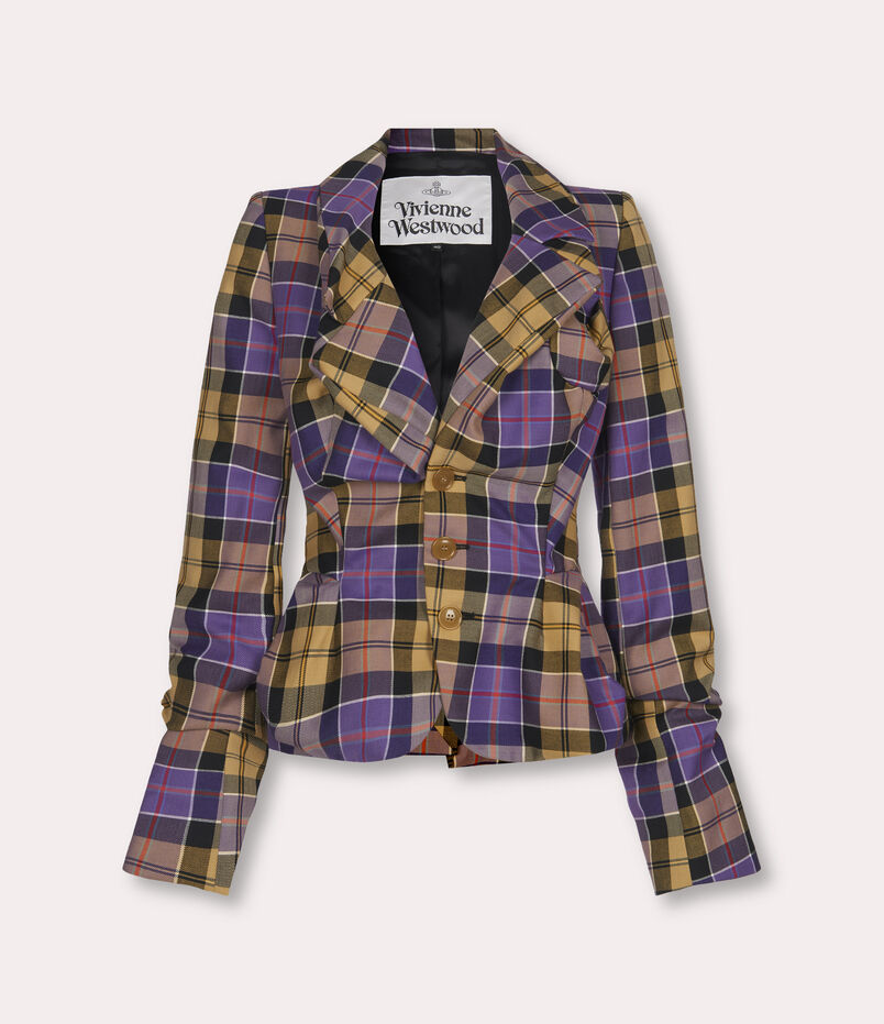 Vivienne Westwood Drunken Tailor Jacket Tartan