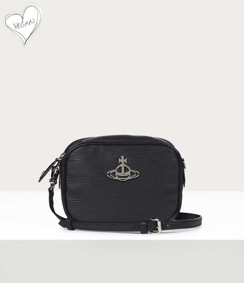 Vivienne Westwood Polly Camera Bag Black