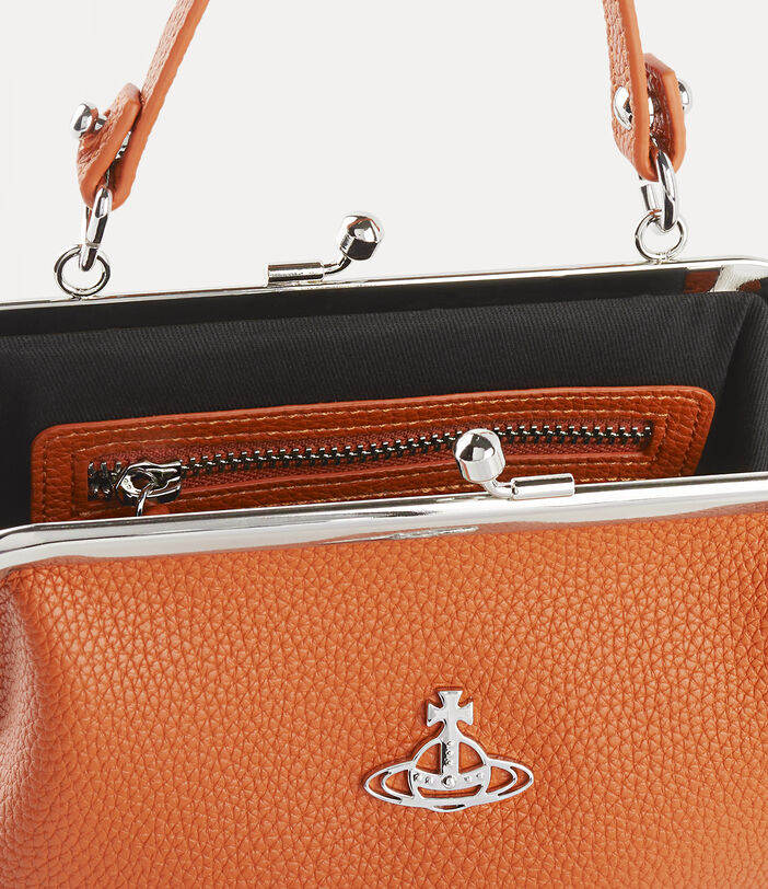 Johanna Frame Purse Orange 4