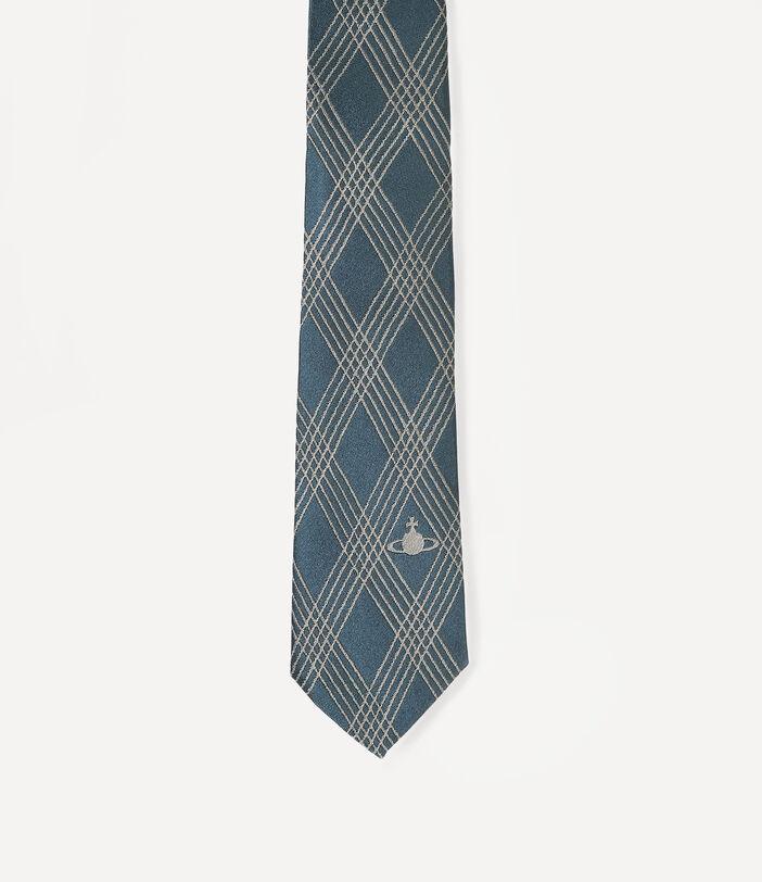 Tartan Tie Sage Green 7CM 2