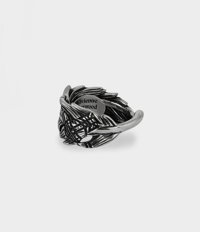 Eugenio Ring Antique Silver-Tone 3