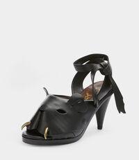 La Tigresse Sandal Black