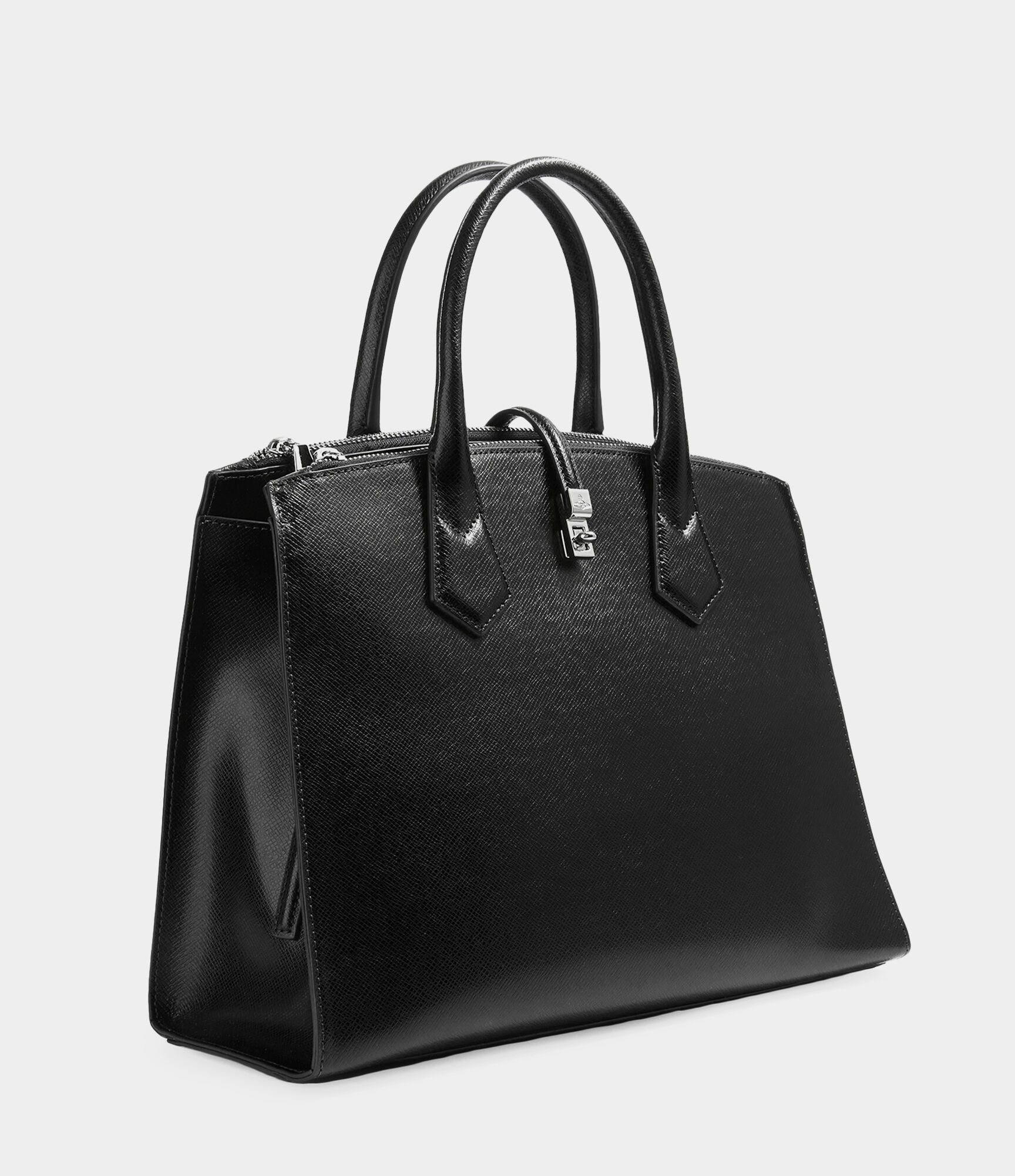 b15aabad27c VIVIENNE WESTWOOD SOFIA OFFICE BAG BLACK | ModeSens