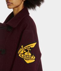 Duffle Coat Burgundy