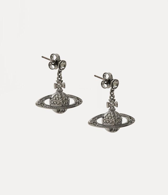 Mini Bas Relief Drop Earrings 3