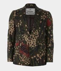Classic Jacket Camouflage Print