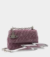 Velvet Coventry Medium Handbag Pink