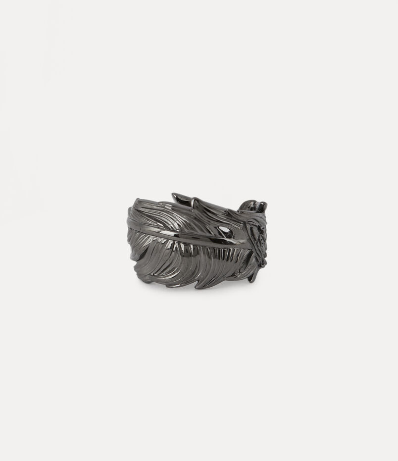 Eugenio Ring Gunmetal-Tone
