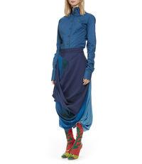 Eight Skirt Blue