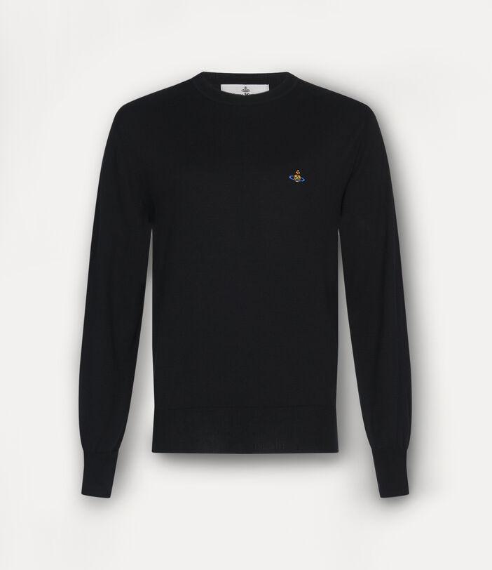 Classic Roundneck Sweater Black 1