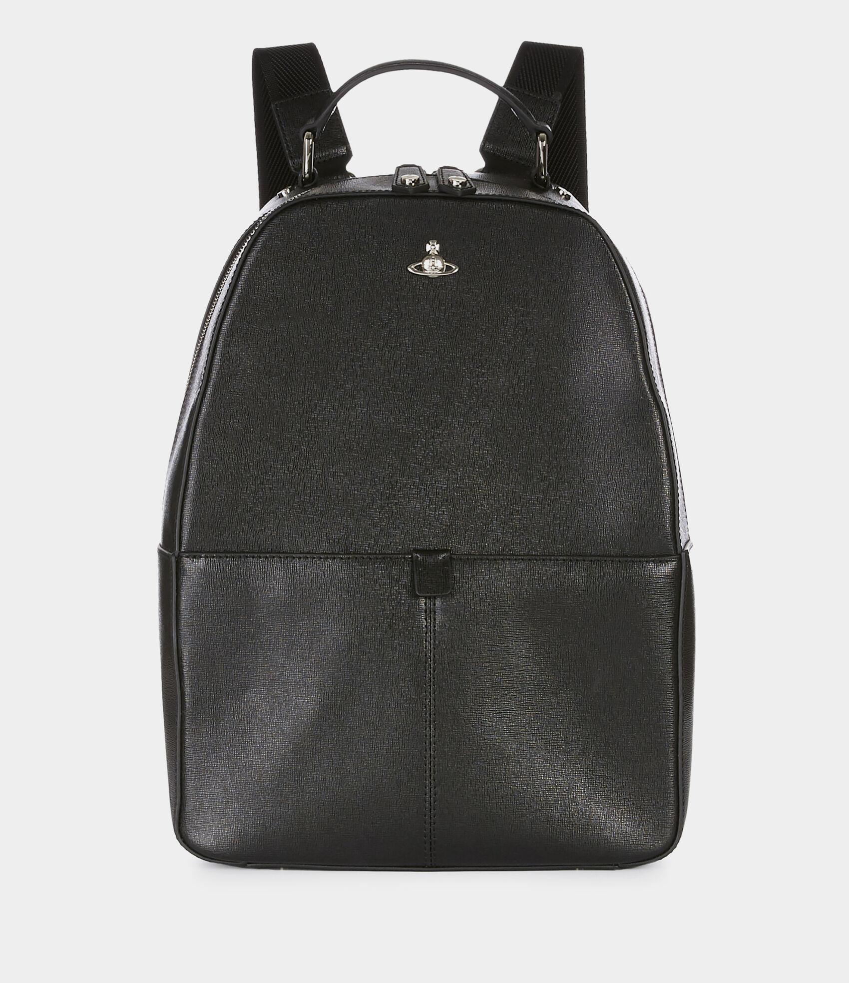 86e2ce9468c Kent Backpack Black | Men's Bags | Vivienne Westwood