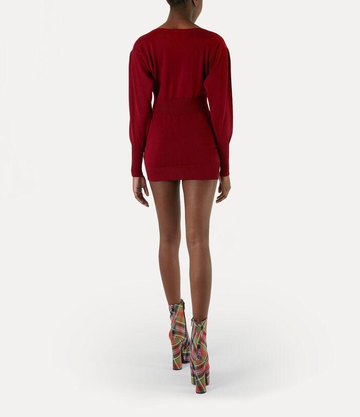 Maria Dress Red 3